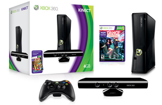 Free Dance Central with 4GB Kinect Xbox purchase on Amazon