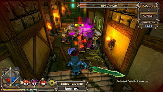 PS3/PC/iOS/Android cross-platform multiplayer achieved in Dungeon
