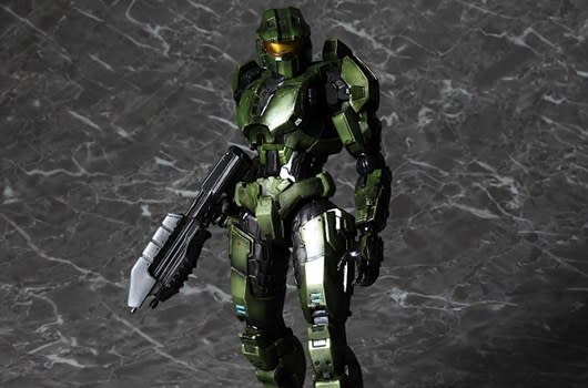 489e793cb70b40 Following on its Halo: Reach figures, Square-Enix has announced plans to  release more products based on the Halo franchise. In conjunction with the  upcoming ...