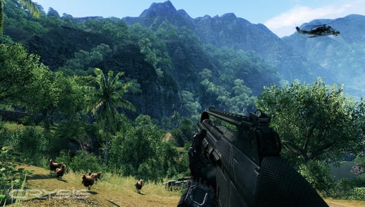 Your console can run Crysis on Oct  4, new screenshots attest