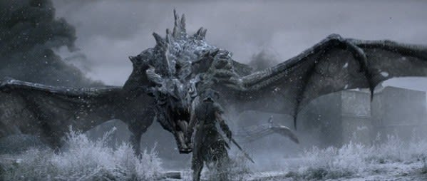 Cower In Terror Or Stand Tall Against Skyrim S Totally Real Dragon