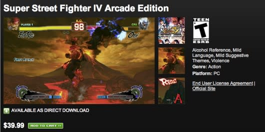 Two Capcom games now available on Origin