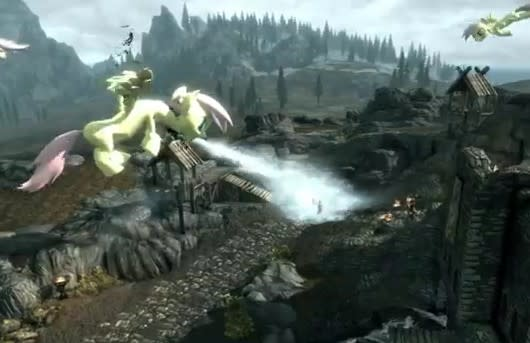 Skyrim mod replaces dragons with My Little Pony