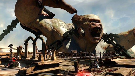 Watch the first God of War: Ascension gameplay right here