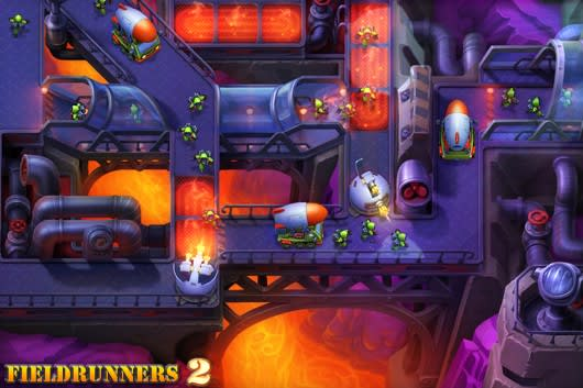 fieldrunners free for ipad
