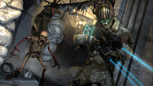 Dead Space 3 weapon crafting lets you stack guns on guns