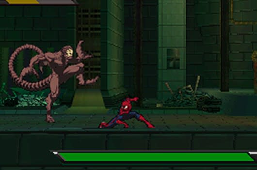 ultimate spider man game ds