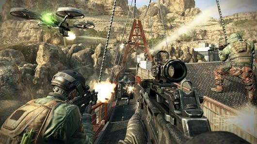 Call of Duty Black Ops 2 moninpeli matchmaking