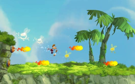 Go for a free Rayman Jungle Run
