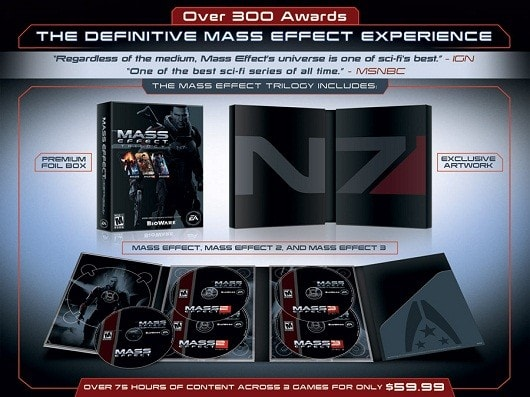 Mass effect trilogy video games for sale | ebay.