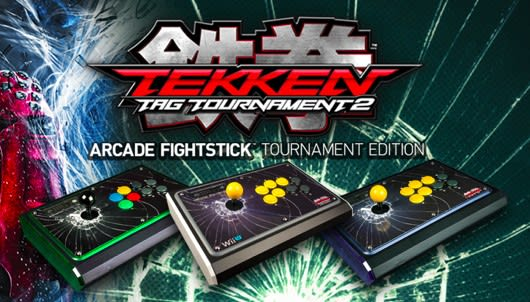 Tekken Tag Tournament 2 FightStick available for Wii U, PS3