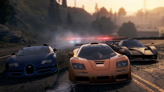 Co-Driving through Need for Speed: Most Wanted on Wii U