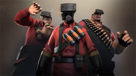 Valve offers Team Fortress 2 'VR mode' tips and tricks