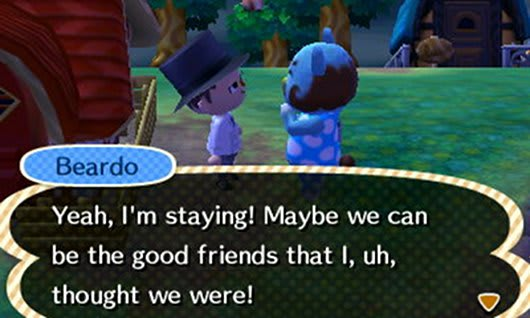 Animal Crossing New Leaf review: Beardo's lament