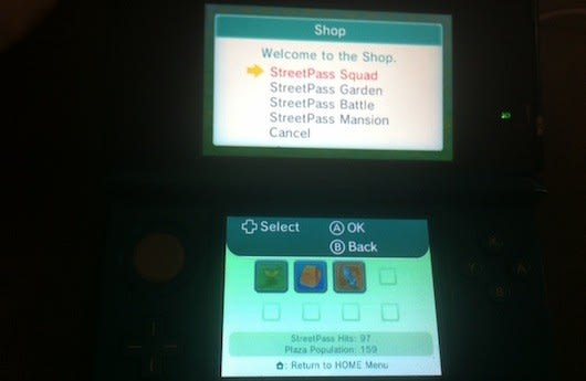 3ds Update Adds Four Purchasable Mii Plaza Games Save Data Backup