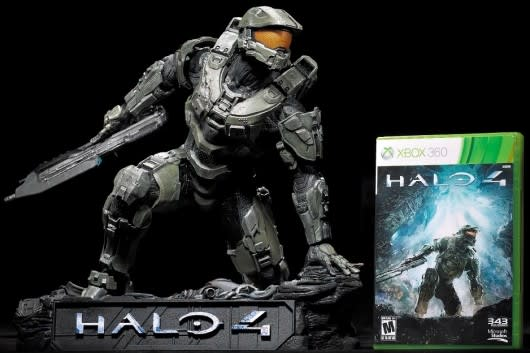 Halo 4 Master Chief Statue Coming To Protect Your Desk From