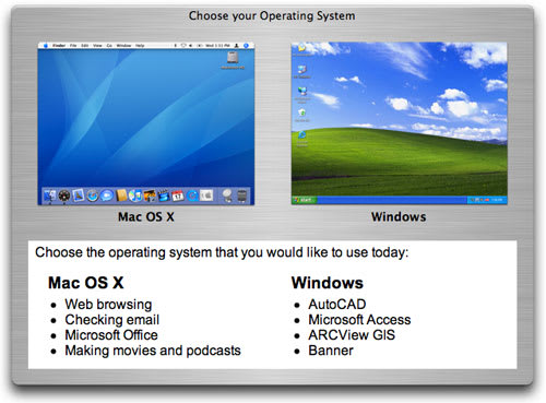 Much love for Mike Bombich -- Bootpicker 1 3 makes Mac/XP choice easier