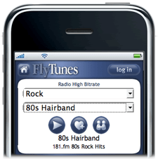 FlyTunes Brings Free Streaming Radio to iPhone & iPod Touch
