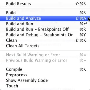 Xcode 3 2 Daily Tip: Analyzing Your Code