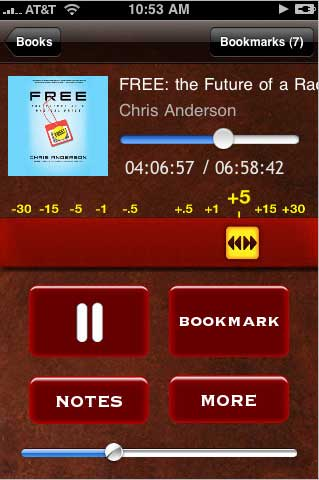 The Bookmark App: Audiobooks finally done right