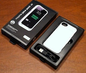 pretty nice 60f50 f9c77 Mophie Juice Pack Air for iPhone 4: Review and giveaway