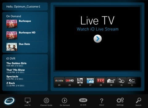 Cablevision releases iPad app for cable subscribers