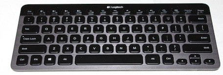 25567a9e0ab ... Pros don't have to look at the glowing keyboards of their  MacBook-owning buddies with envy anymore. The folks at Logitech have  introduced the new k810 ...