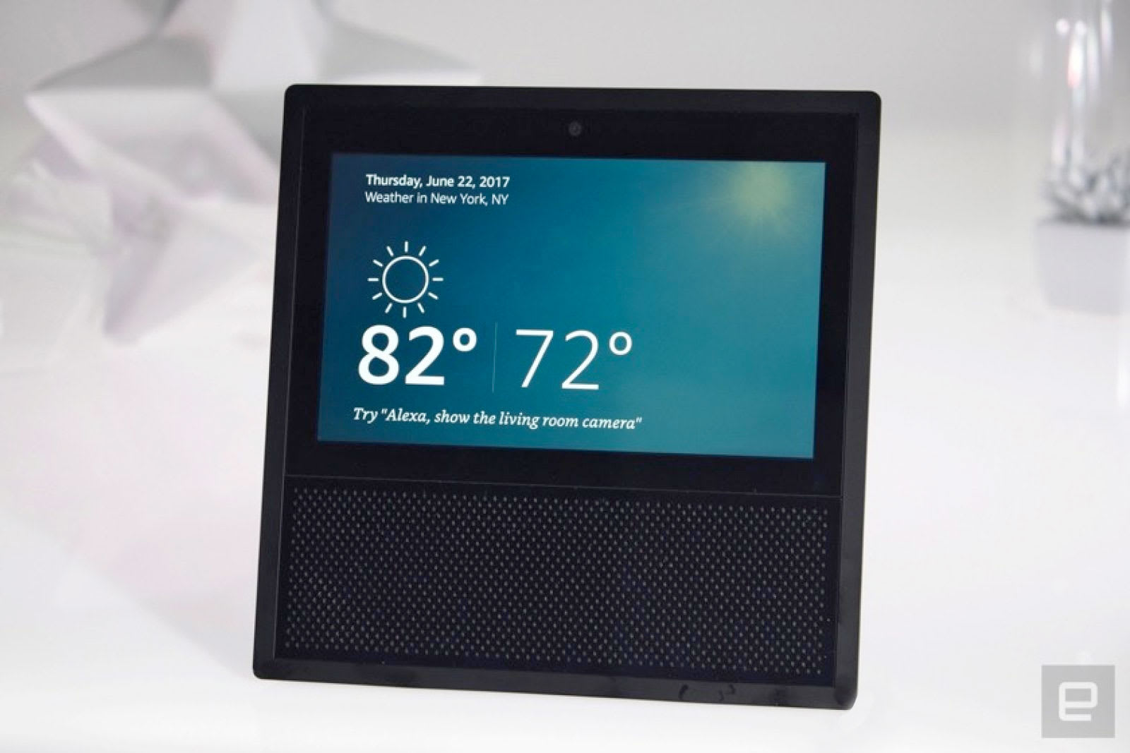 Amazon's Echo Show can use Getty Images to answer your ...