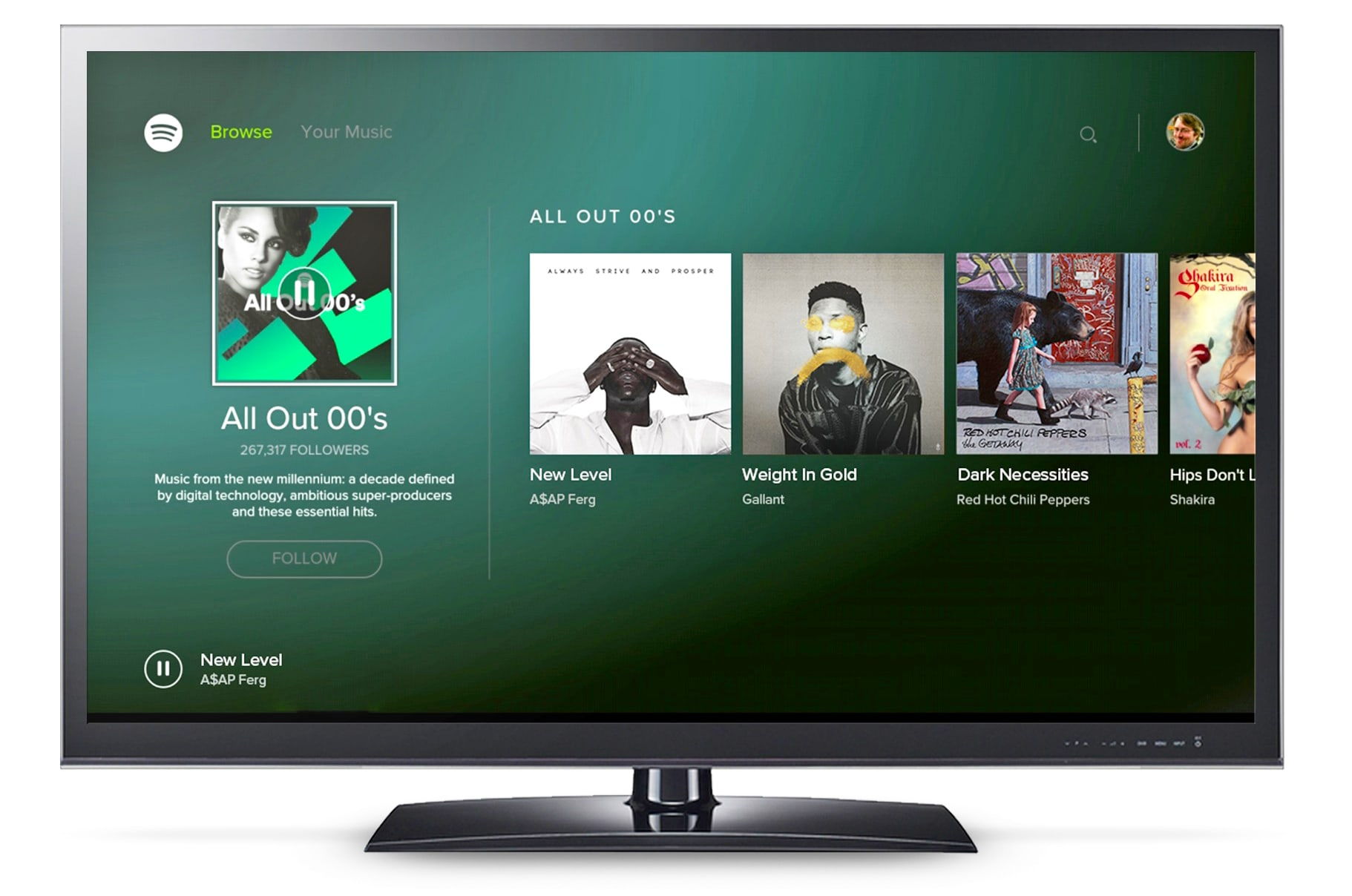 Spotify Android Tv