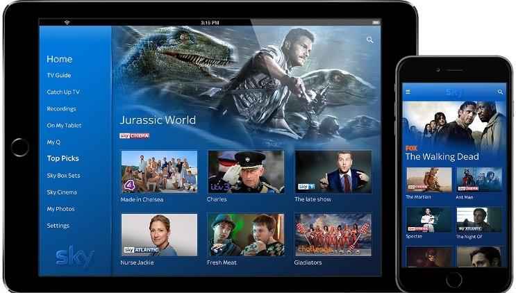 Sky Q App Sony Tv