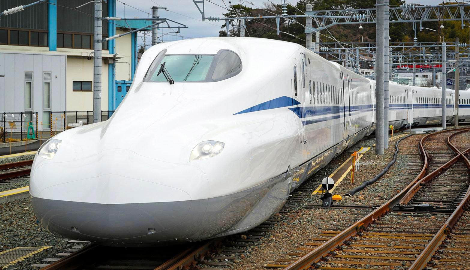Japan's next-gen bullet train is sleeker and tech-friendly ...