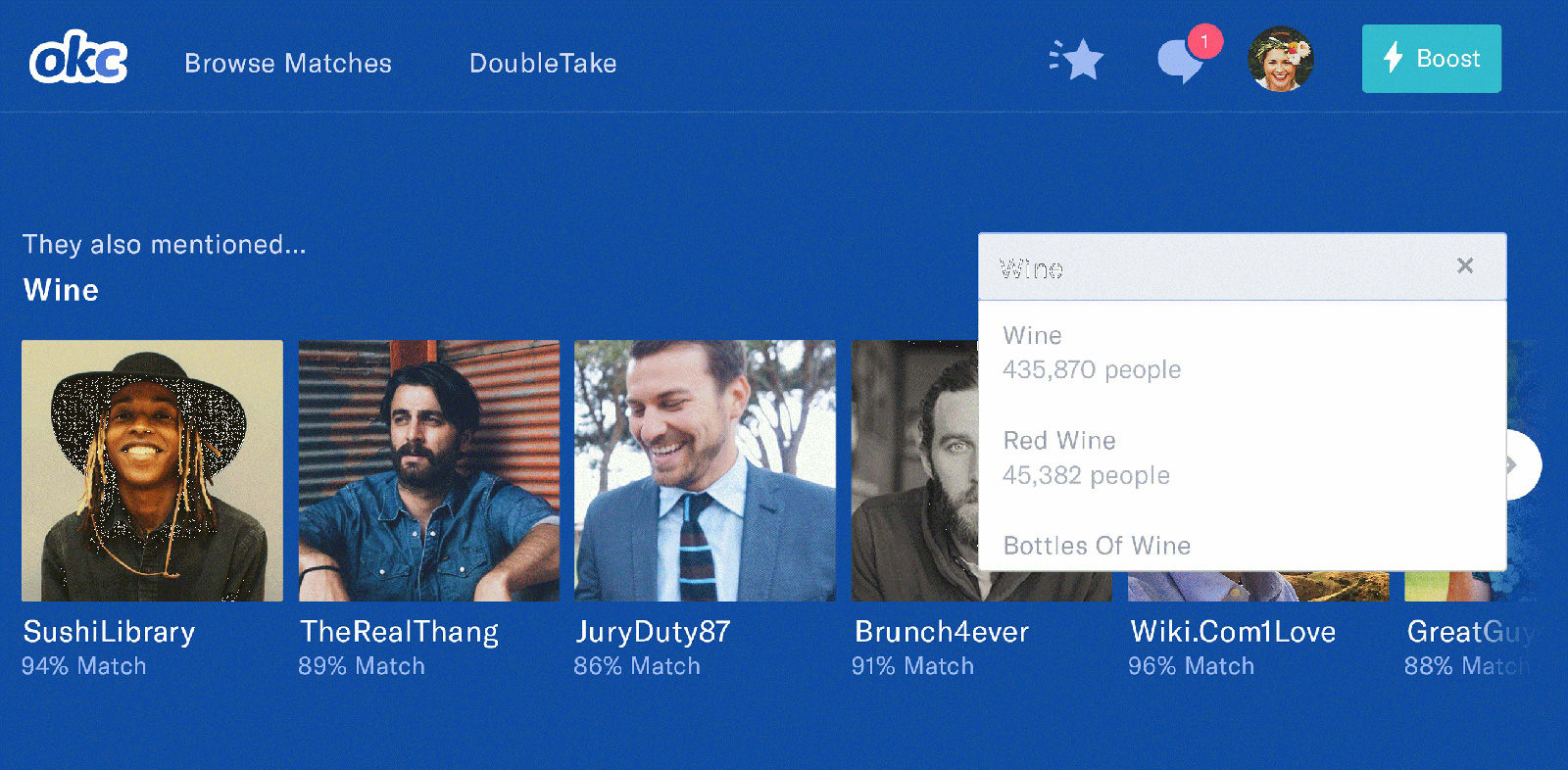 OKCupid hopes interest searches will replace swipes in