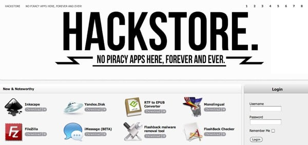 HackStore is like Cydia for Mac OS X, replaces walled