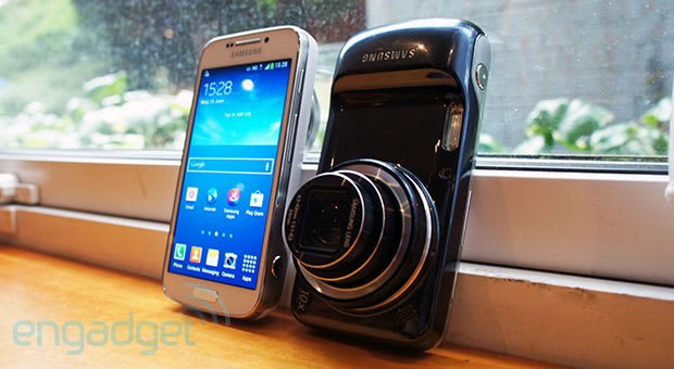 Samsung Galaxy S4 Zoom hands-on: 10x telephoto, 100x ...