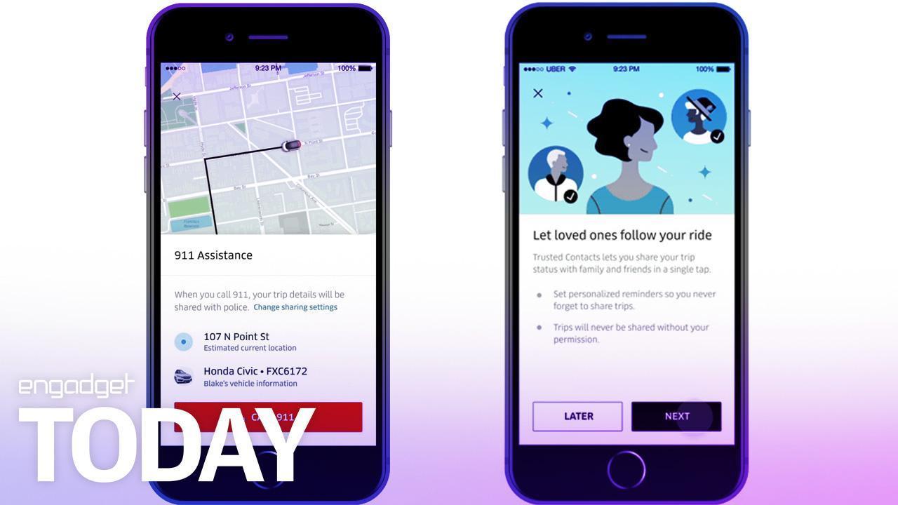 Uber unveils much-needed passenger safety features