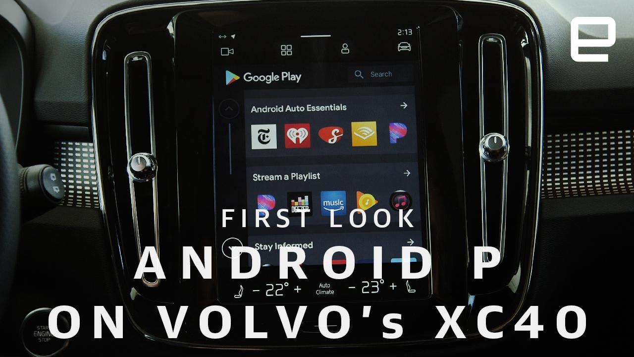 Android P makes Volvo's in-car infotainment system even better