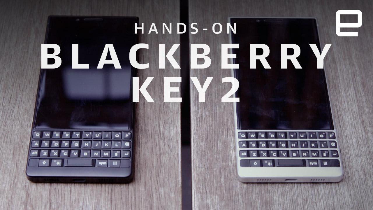 BlackBerry KEY2 hands-on: A stylish approach to privacy and