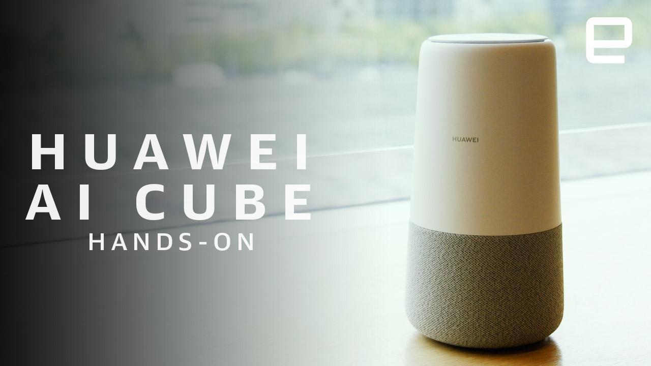 Huawei\'s Google Home clone has Alexa inside