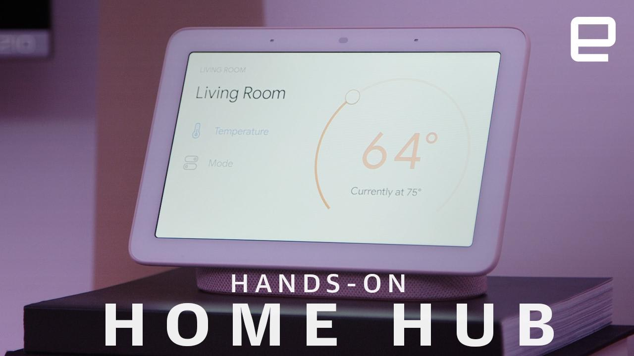 Google Home Hub hands-on: A surprisingly compact smart display
