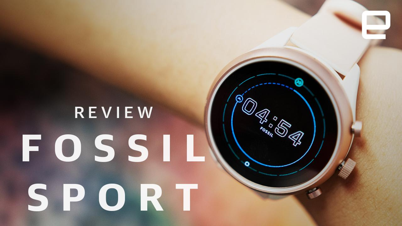 fossil sport review just another wear os watch. Black Bedroom Furniture Sets. Home Design Ideas