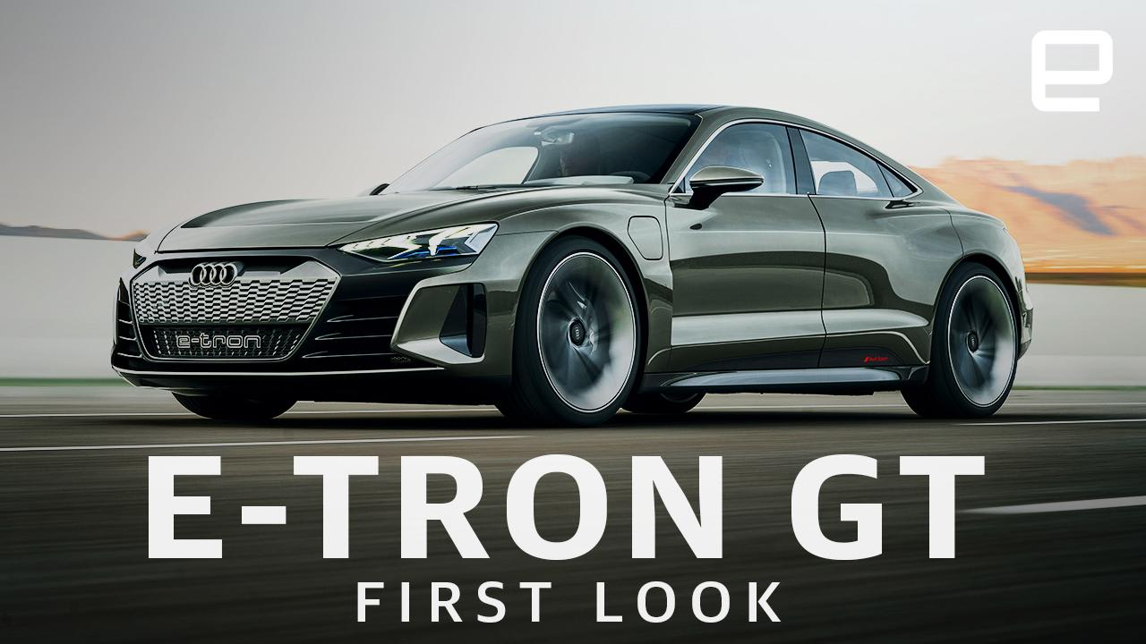 Audi S Pure Electric E Tron Gt Is Beautiful And Fast