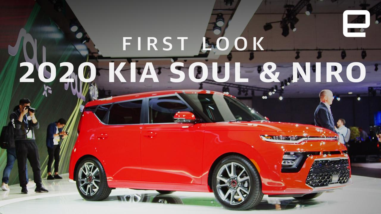 Up close with Kia's 2020 Niro and Soul EVs