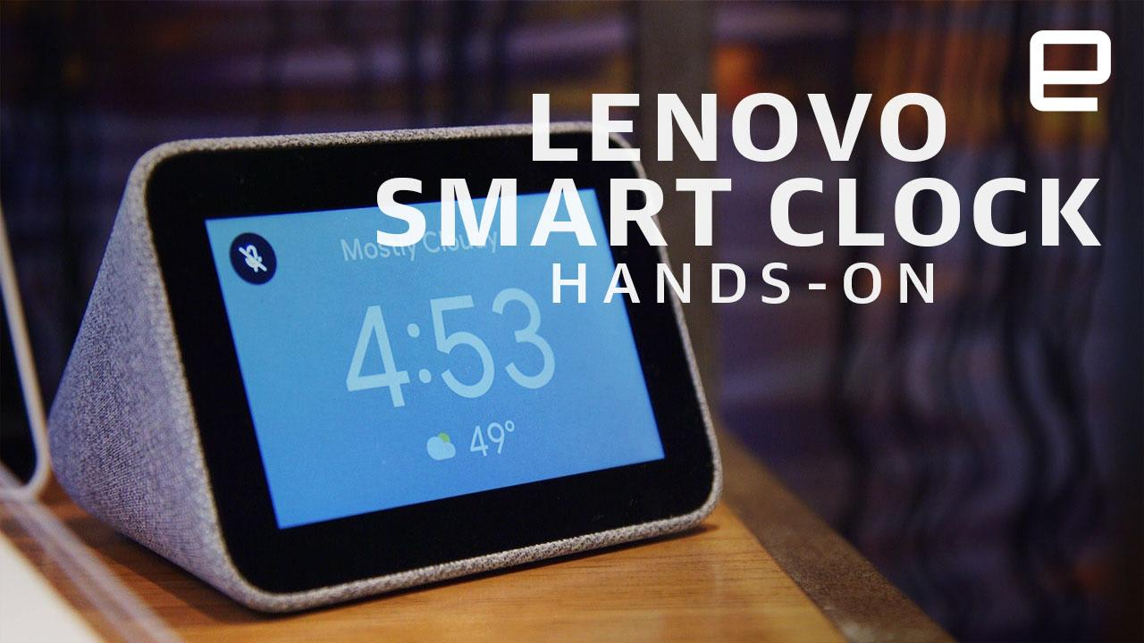 Lenovo's new Smart Clock brings Google Assistant to your