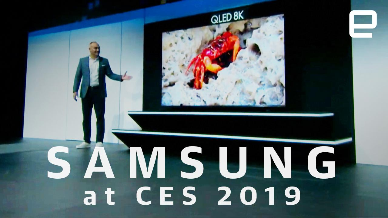 Watch Samsung's CES 2019 press conference in 8 minutes