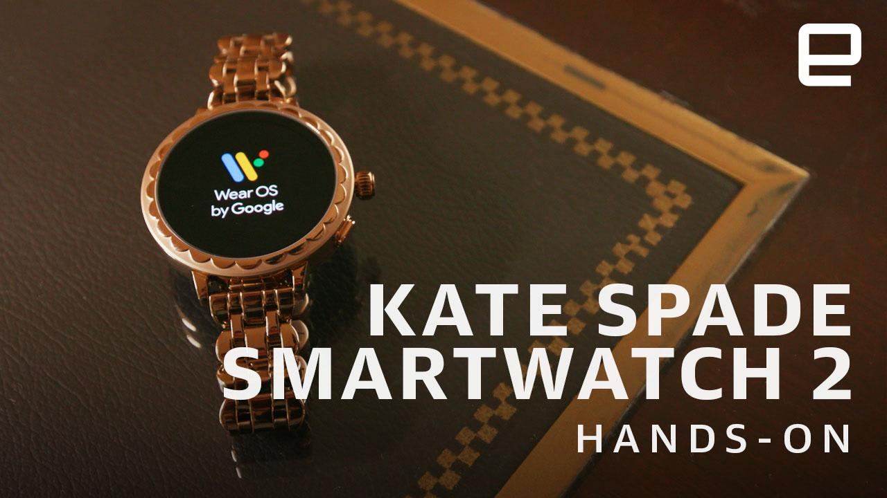 31bf09e9ed3 Kate Spade s second Wear OS watch gets a serious tech upgrade