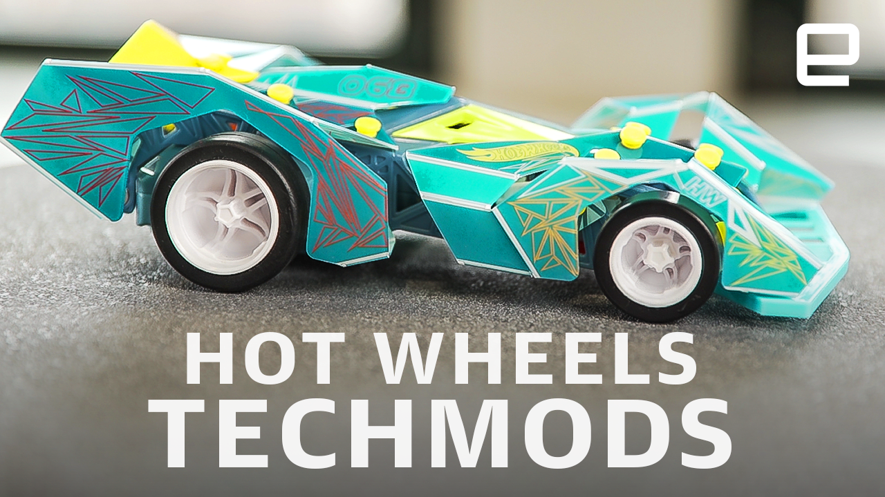 Hot Wheels' new TechMods are remote-control cars you build