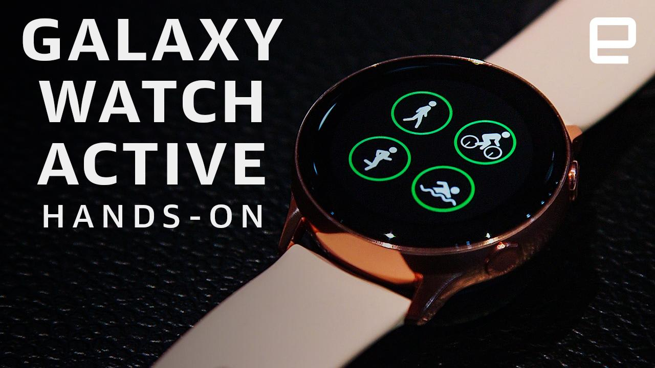 Samsung Galaxy Watch Active Hands On Ready For The Gym