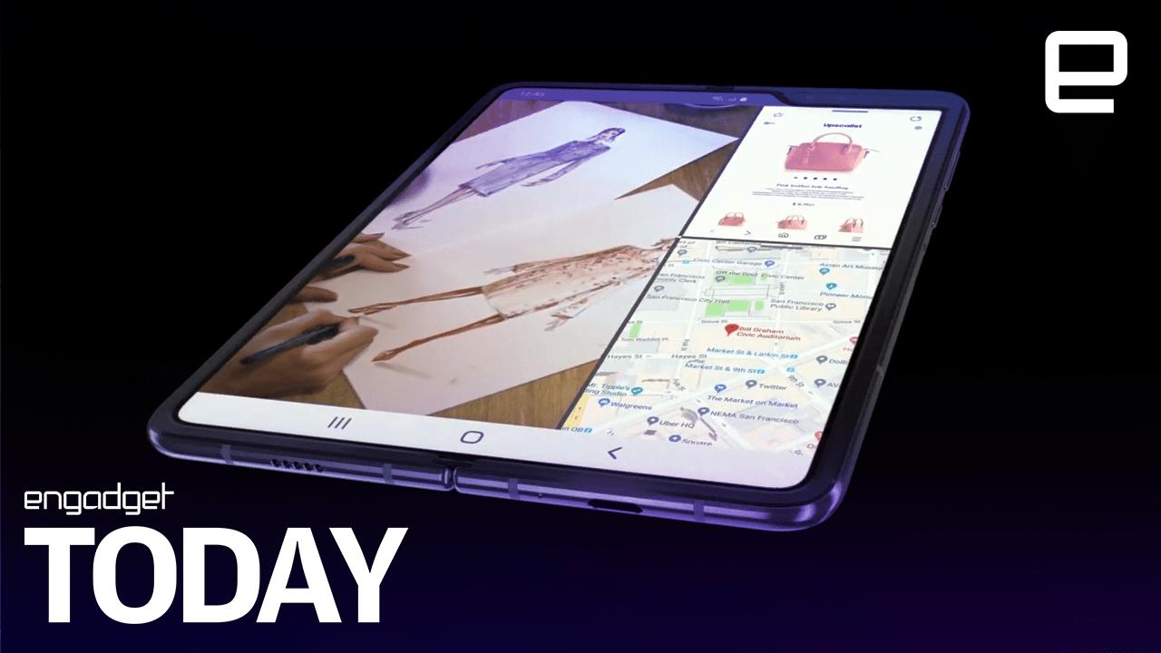 90ba5c7ba Samsung s foldable phone is officially the  Galaxy Fold