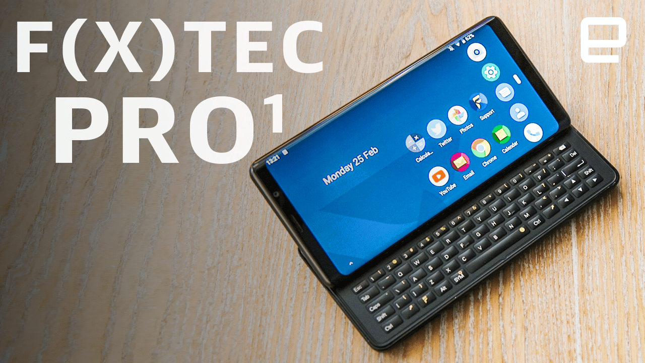 a20823ed90d The F(x)tec Pro 1 is a love letter to your old QWERTY keyboard phones