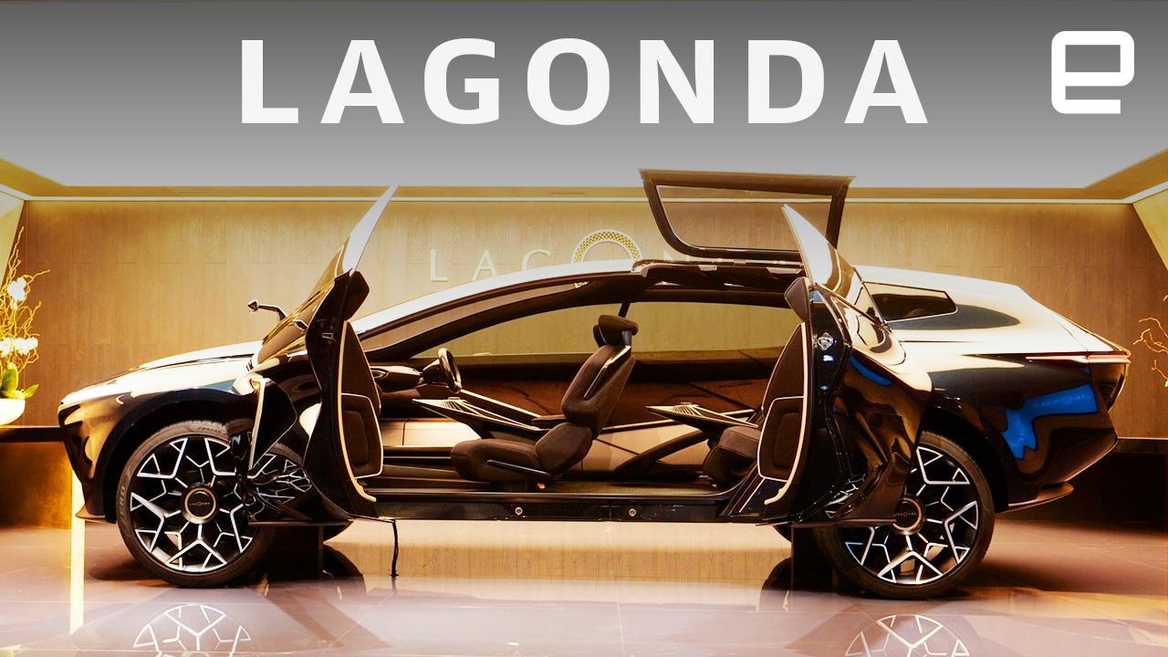 Aston Martin S Lagonda All Terrain Ev Suspends Its Key Using